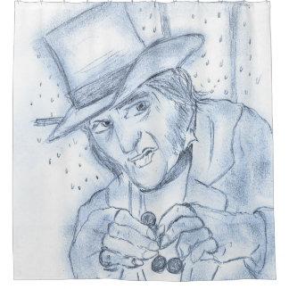 Scrooge in blue