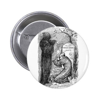 Scrooge s Grave Pinback Buttons