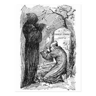 Scrooge s Grave Postcard