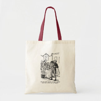 Scrooge s Nephew with text Canvas Bag