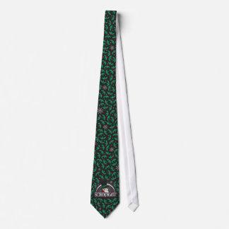Scrooge U Tie-Black Tie