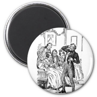 Scrooge's Nephew 2 Inch Round Magnet