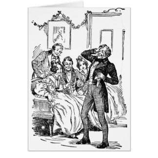 Scrooge's Nephew Greeting Card