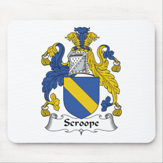 Scroope Family Crest Mouse Pad