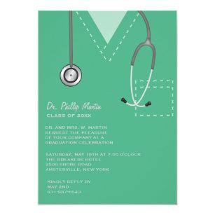dr graduation invitations zazzle ca