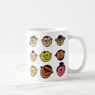 Scruffy Faces Coffee Mug