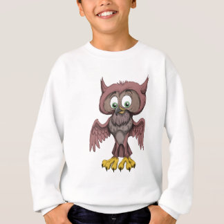 Scruffy Owl Sweatshirt