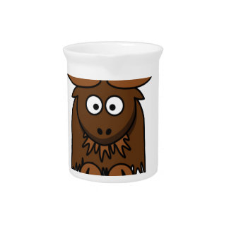 scruffy yak beverage pitcher