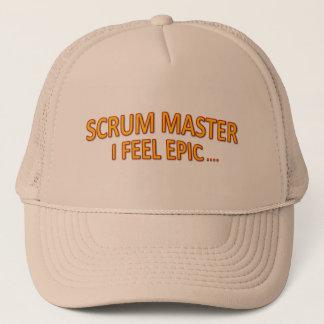 Scrum Master Epic Cap