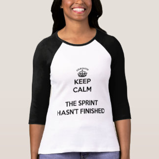 Scrum Master Keep Calm, The Sprint hasn't finished T-Shirt