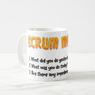 Scrum Master Reminder Mug