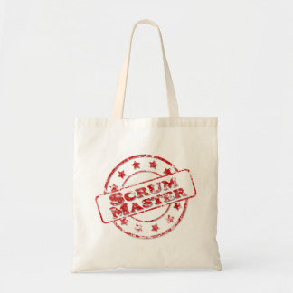 Scrum Master Stamp Tote Bag