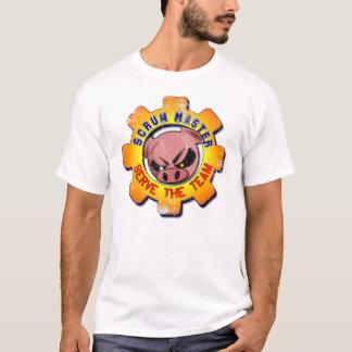 Scrum Master Vintage - Serve The Team T-Shirt
