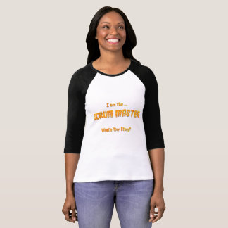 Scrum Master, Whats Your Story? T-Shirt