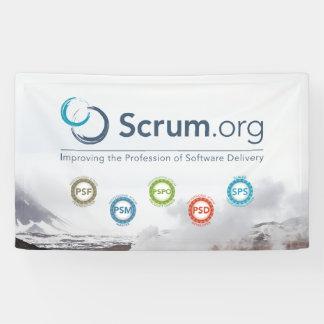 Scrum.org Vinyl Banner