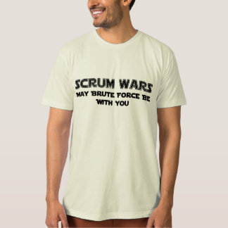 Scrum Wars  Rugby T-Shirt