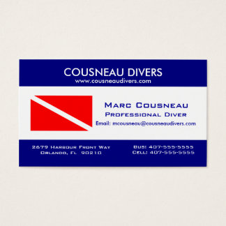 Scuba Business - Personal Card 1