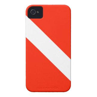 Scuba Dive Flag iPhone 4 Case-Mate Case