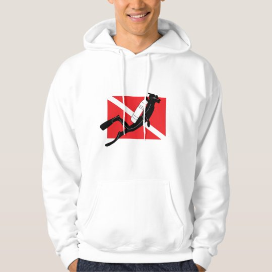 SCUBA Dive Hooded Sweatshirt