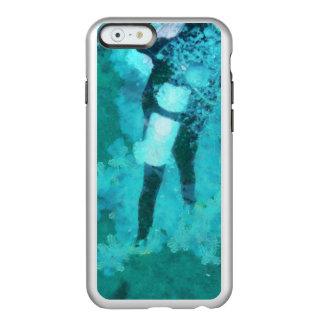 Scuba diver and bubbles incipio feather® shine iPhone 6 case