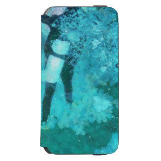 Scuba diver and bubbles incipio watson™ iPhone 6 wallet case