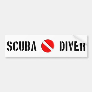 Scuba Diver Cool design! Bumper Sticker