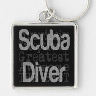 Scuba Diver Extraordinaire Keychain