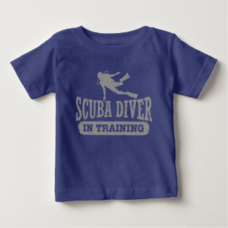 Scuba Diver In Training Baby T-Shirt