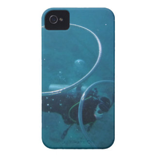 Scuba Diver iPhone 4 Covers