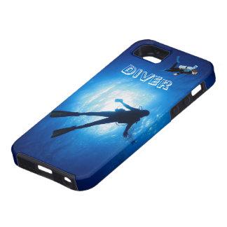 Scuba Diver iPhone 5 Cases