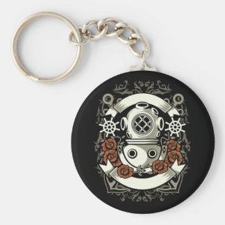 Scuba Diver Keychain
