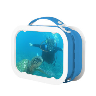 Scuba Diver Lunch Box