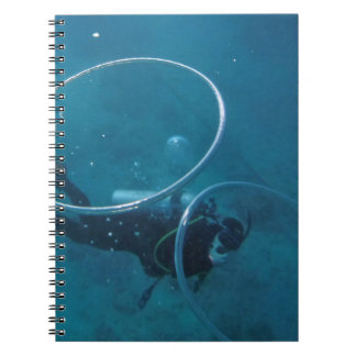 Scuba Diver Notebooks