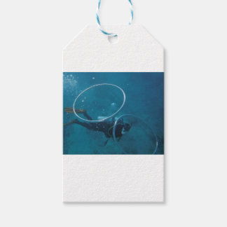 Scuba Diver Pack Of Gift Tags