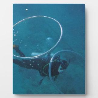 Scuba Diver Plaque