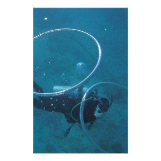 Scuba Diver Stationery