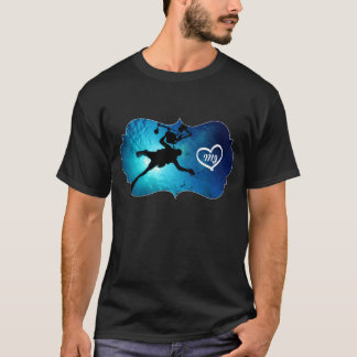 Scuba Divers Go Deeper Diving Deep Blue Sea T-Shirt