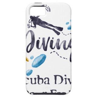 Scuba Divers Go Down For Pleasure iPhone 5 Cover