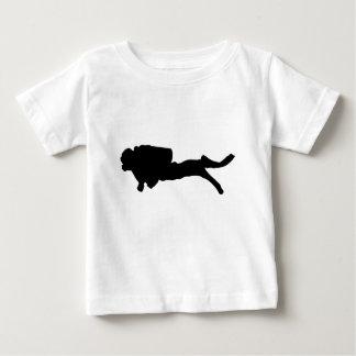 scuba diving baby T-Shirt