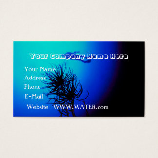 Scuba Diving customizable Business Card
