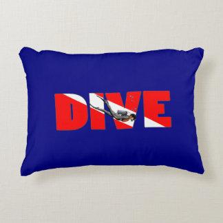 Scuba Diving DIVE Accent Pillow