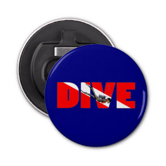 Scuba Diving DIVE Bottle Opener