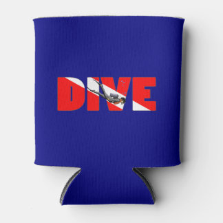Scuba Diving DIVE Can Cooler