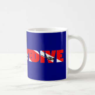 Scuba Diving DIVE Coffee Mug