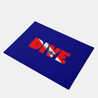 Scuba Diving DIVE Doormat