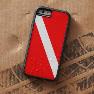 Scuba Diving Dive Flag Tough Xtreme iPhone 6 Case