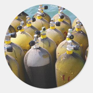Scuba Diving Equipment Stickers