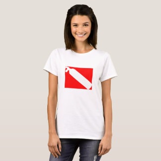 Scuba diving flag T-Shirt