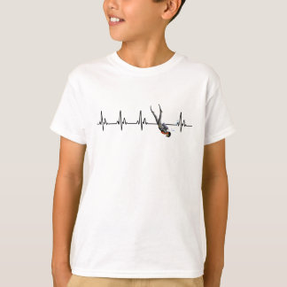 SCUBA Diving Heartbeat T-Shirt