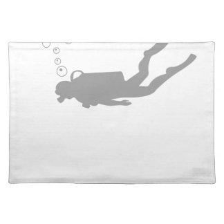 scuba diving placemat